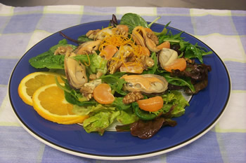 Mussel and Orange Salad